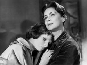 Edith Scob and Alida Valli in Eyes Without a Face: 'unforgettable'.