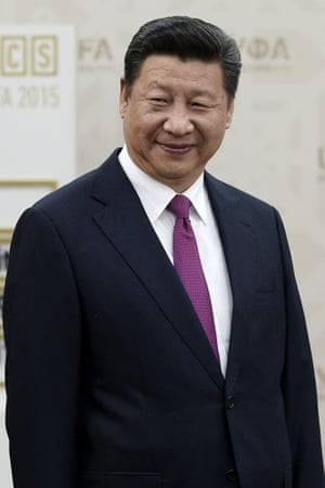 "China's President Xi Jinping: 'Imposing economic sanctions on China is not ""anti-business'."