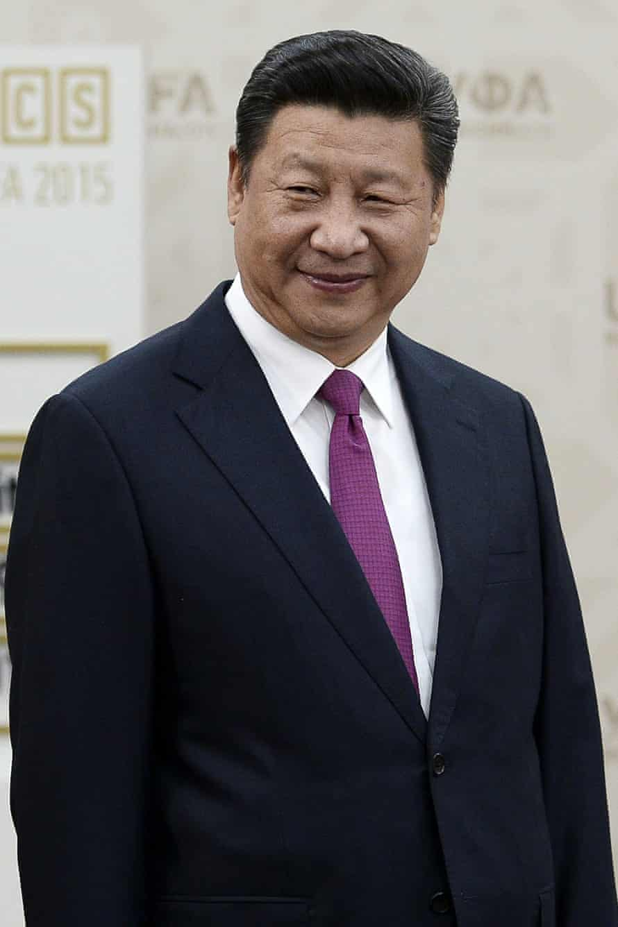 """China's President Xi Jinping: 'Imposing economic sanctions on China is not """"anti-business'."""