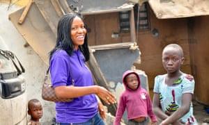 Bilikiss Adebiyi-Abiola in Lagos.
