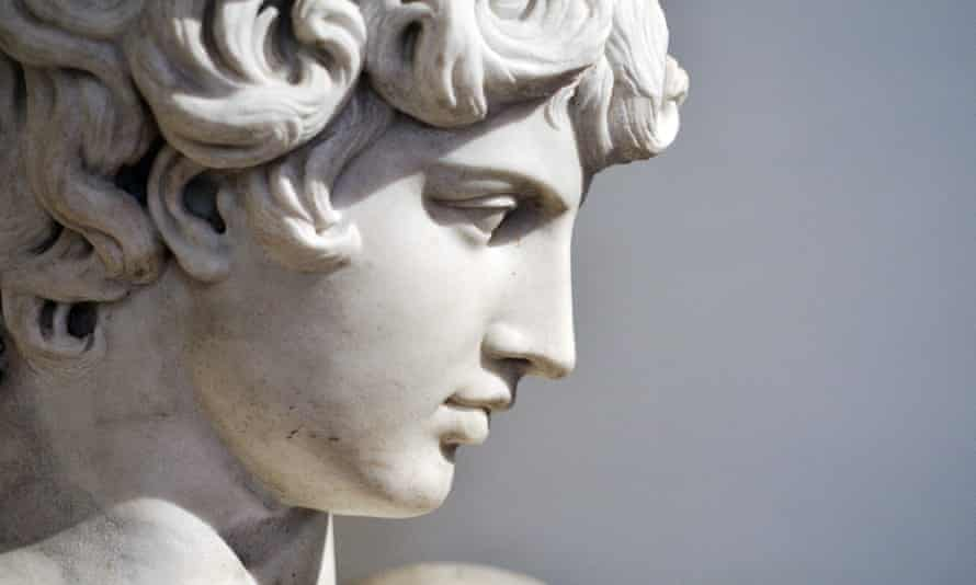 One of the many statues of Antinous found in Rome.