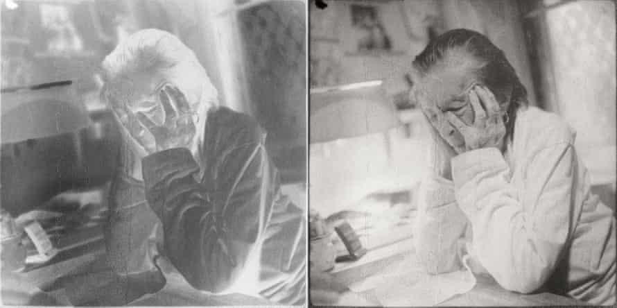Louise Bourgeois, NY 20th St, Double exposure,   2006