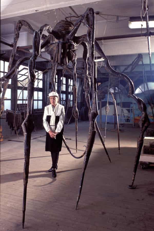 Louise Bourgeois, atelier Brooklyn, Avec Maman, 1995