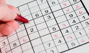 Sudoku-induced epileptic seizures | Science | The Guardian