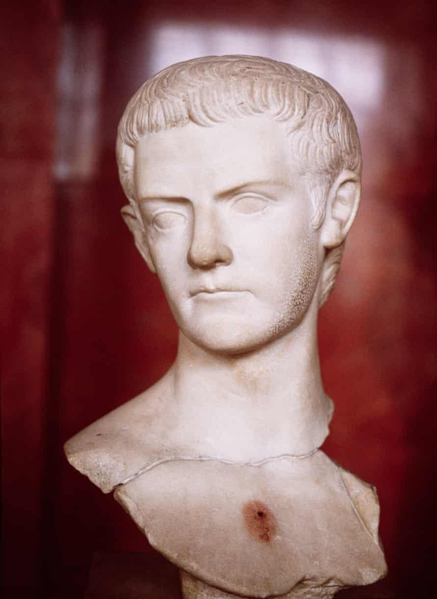 A bust of Gaius Caligula.