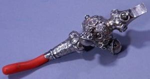 Edith Wharton's baby rattle