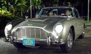 James Bond's famous Aston Martin DB5.