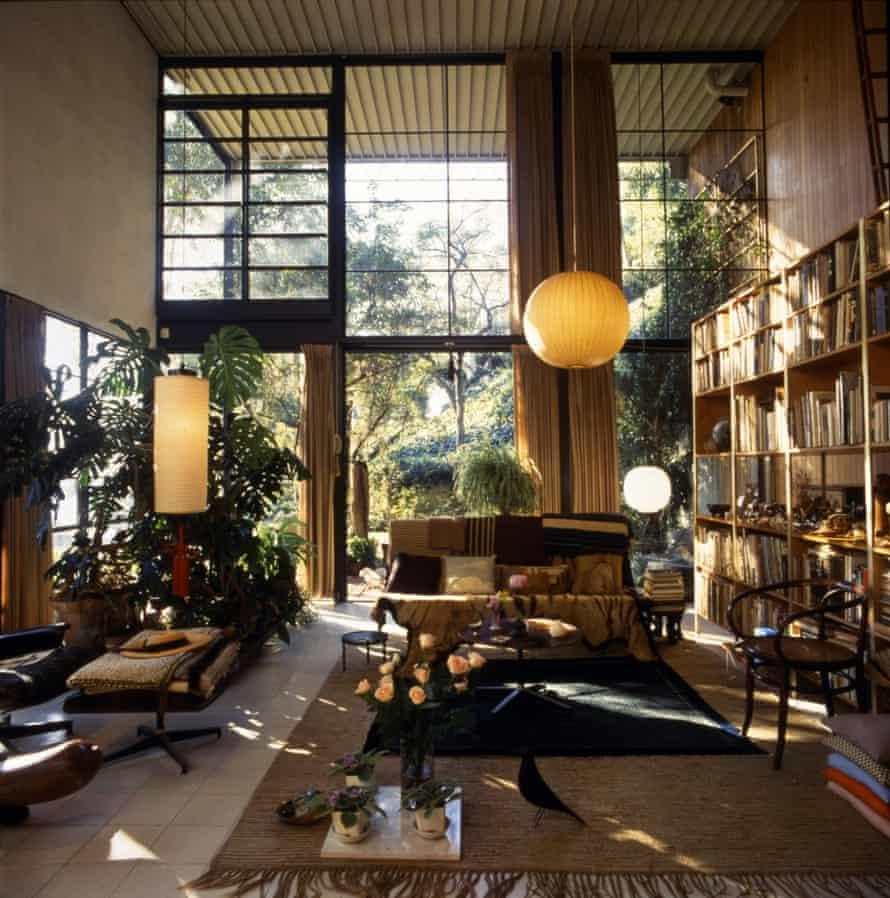 Eames House Living Room.