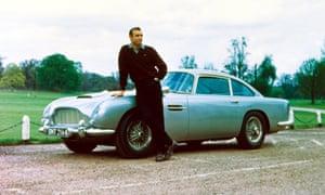 Sean Connery, Aston Martin DB5