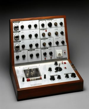 Zinovieff's claim to fame, the VCS3 synthesiser, used by Pink Floyd, Roxy Music and others.