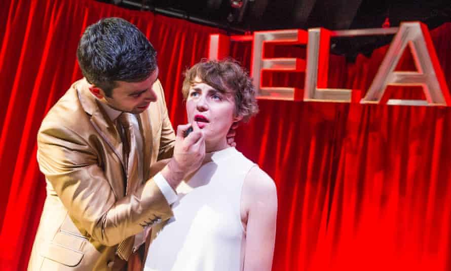 David Mumeni and Katie West in Lela & Co by Cordelia Lynn.