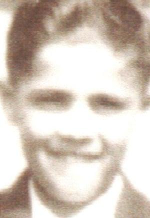 Tony Costa as a boy. Child migrants