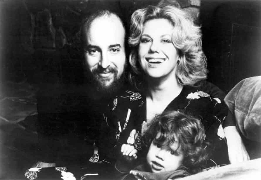 Erica Jong with her third husband, Jonathan Fast, and daughter Molly.