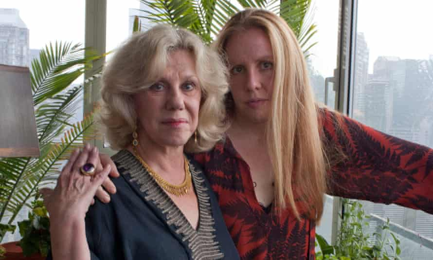 Erica Jong and her daughter, Molly Jong-Fast, at the former's home in 2011.