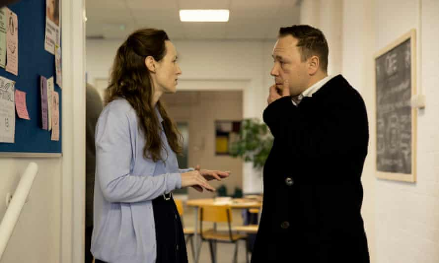 This was England… Helen Behan as Evelyn and Stephen Graham as Combo in the last episode.