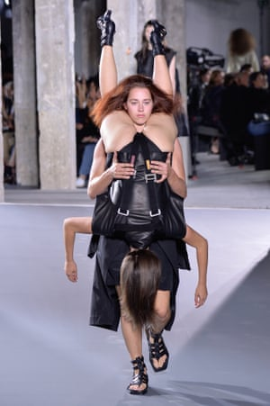Another human backpack, courtesy of Rick Owens.