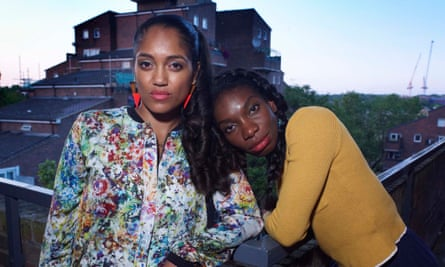 Danielle Walters as Candice and Michaela Coel as Tracey in Chewing Gum.