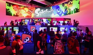 The E3 expo in Los Angeles where hundreds of new games and gaming devices are introduced to over 40,000 visitors