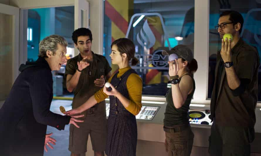 New balls please: the Doctor Who, Lunn, Clara, O'Donnell and Bennett.