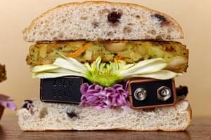 Tom Lakeman's 9 Volt Burger, from his book À La Carte.