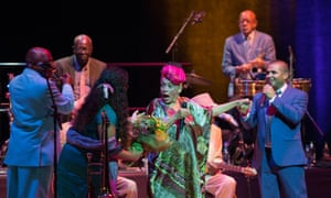 Omara Portuondo and the Buena Vista Social Club in action