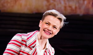 Maxine Peake as Dana in How To Hold Your Breath by Zinnie Harris at the Royal Court in London, earlier this year, directed by Vicky Featherstone.