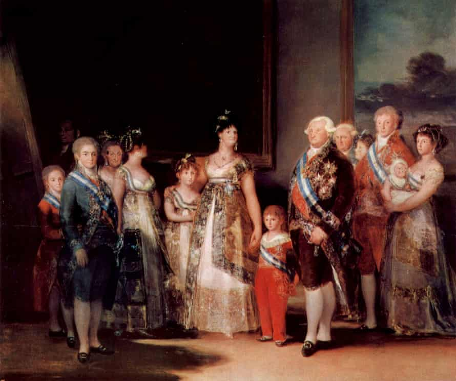 The Family of Charles IV.