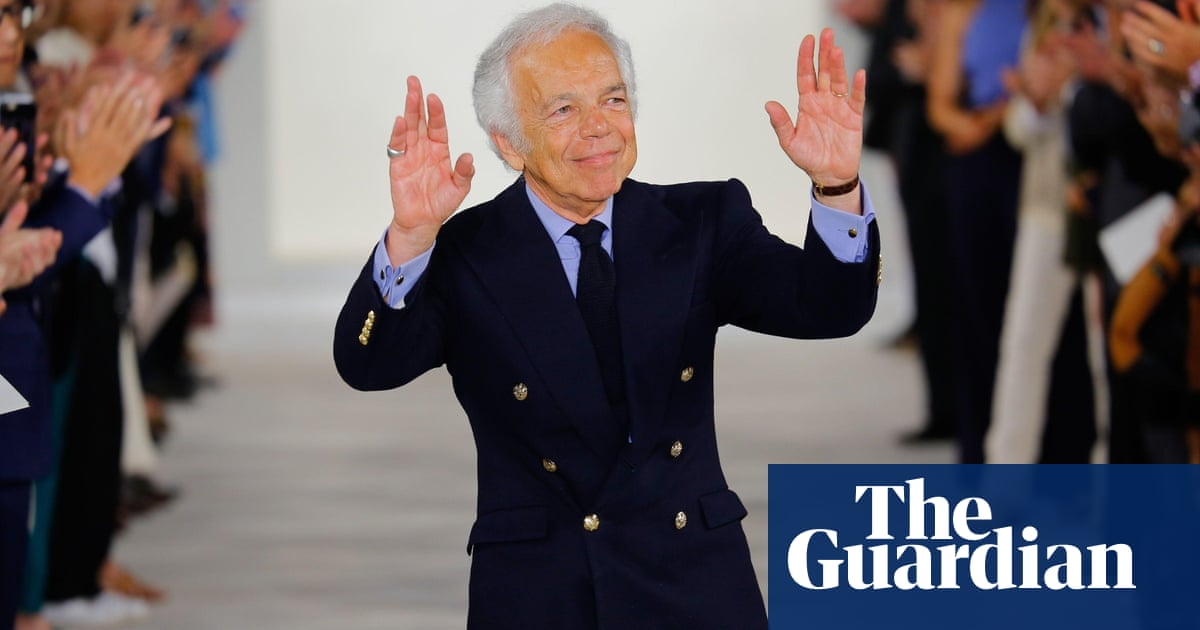 It S Not About Fabric It S About Dreams How Ralph Lauren Created An Empire Fashion The Guardian
