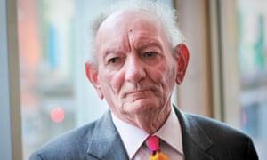 Irish playwright Brian Friel