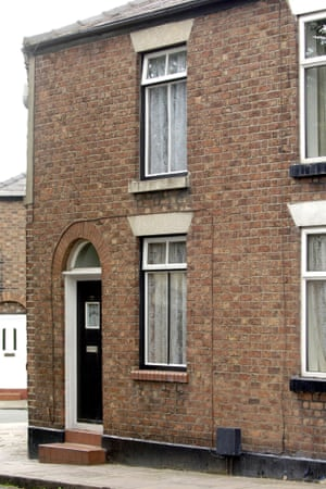 Ian Curtis's old house in Macclesfield, which will now become a museum.