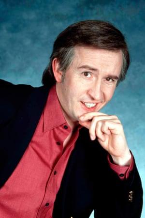 Coogan as Alan Partridge.