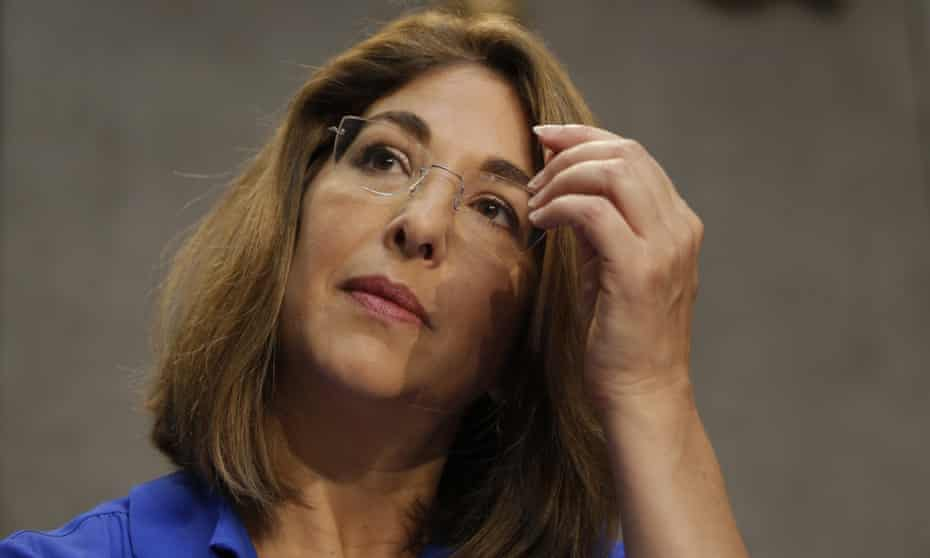 'What is it about those melting glaciers and desperate polar bears that make us want to look away?' … Naomi Klein in Rome, July 2015.