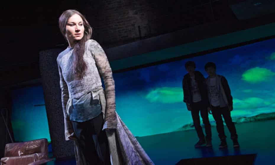 Kate Fleetwood as an updated Medea.
