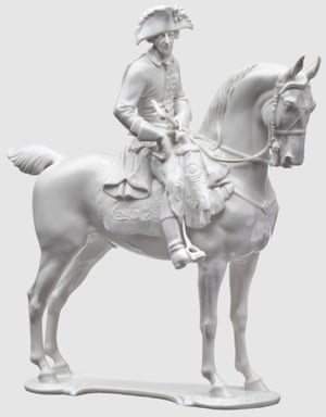'The embodiment of the German soul': a porcelain figurine of Frederick the Great from the SS's Allach factory.