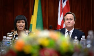 Cameron visit to Caribbean - Day One