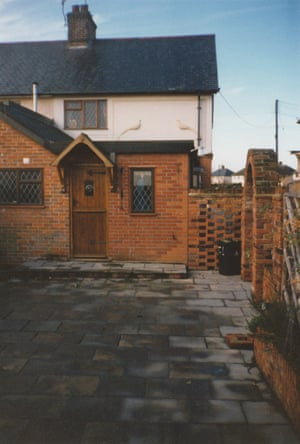 The house as it was in 1990 before John Trevillian