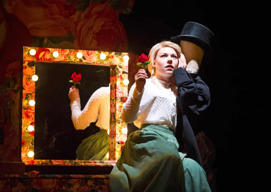 Sally Messham as Nan in Tipping The Velvet: 'a glowing debut'.