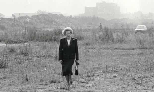 "Margaret Thatcher's ""walk in the wilderness"", Stockton-on-Tees."