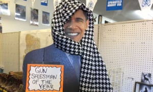 A sign in the Roseburg Gun Shop.