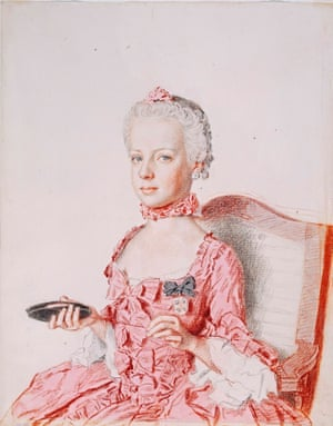 Jean-Etienne Liotard's Archduchess Marie-Antoinette of Austria, 1762