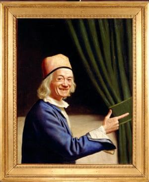 Jean-Etienne Liotard's Self-portrait Laughing