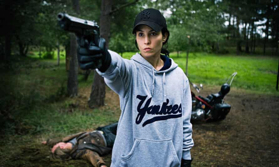 Vengeance shall be mine … Lisbeth Salander, played by Noomi Rapace, in The Girl Who Played With Fire.