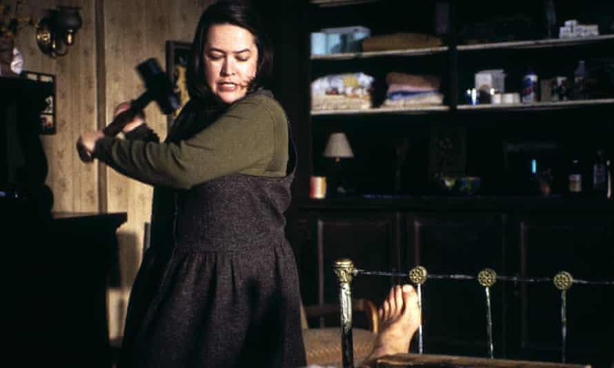 Annie Wilkes (Kathy Bates) in Misery.