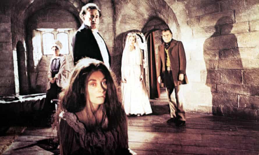 Jean Marsh as in Jane Eyre (1981).