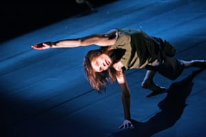 Julie Guibert in Transmission by Russell Maliphant Company at Sadler's Wells in 2006.