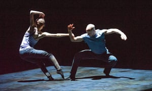 Russell Maliphant and Carys Staton in Still Current at Sadler's Wells in 2014.