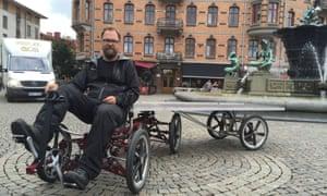 Johan Erlandsson's six-wheeled cargo bike