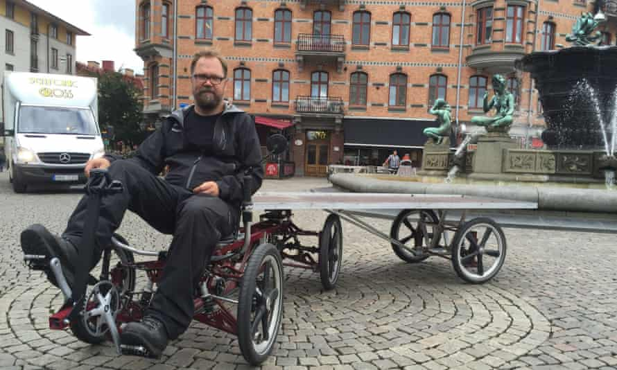Johan Erlandsson's six-wheeled cargo bike