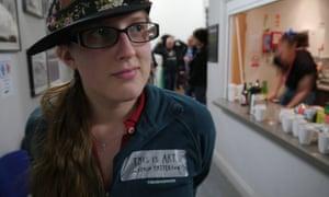 Jordan Erica Webber at the Feral Vector festival