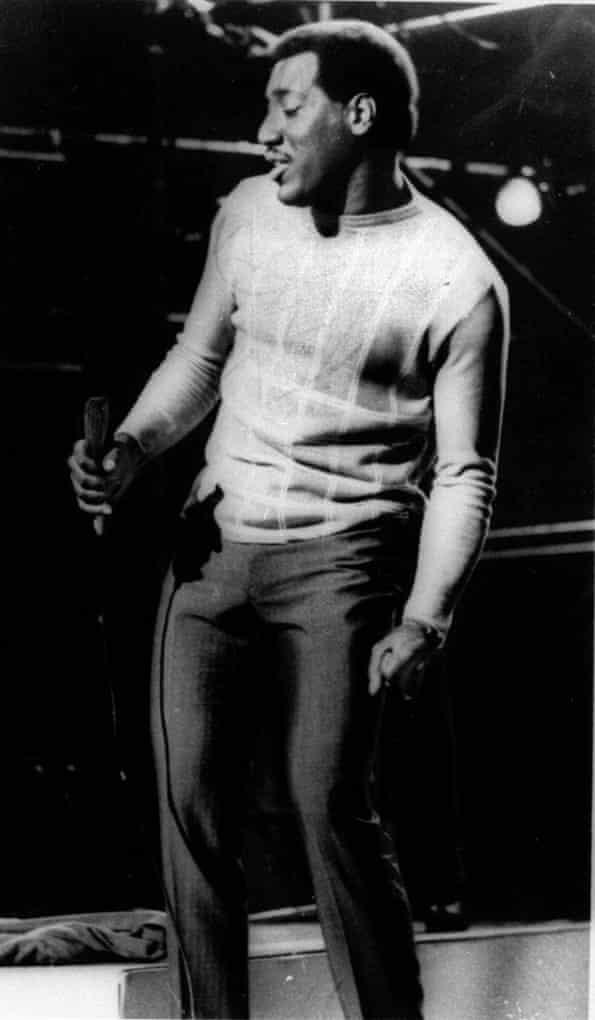 Otis Redding in undated photo before 1969